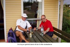 Jørgen og Peer tager en slapper