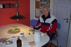 Morgenmad i lejligheden i Aså