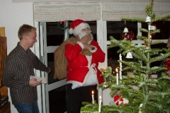 Julemanden kommer