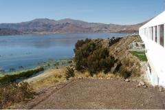 Udsigt fra hotellet i Puno