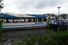Skibet Alexander - Spree-sejlads