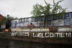 Berlins Christiania set fra Spree