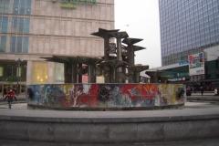 Det grimme springvand på Alexanderplatz