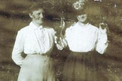 Tante Olga og Mormor