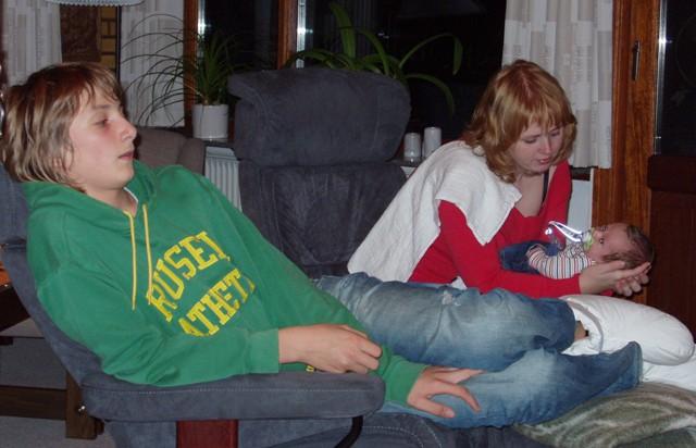 Niklas, Anna og Viggo