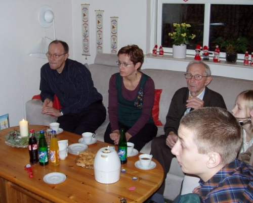 Preben, Marianna, Aksel og Niklas