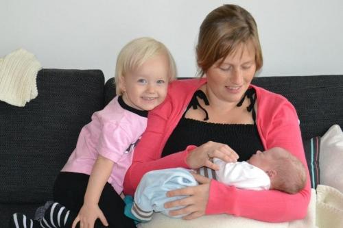 Emma, Louise og Sandder