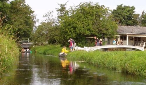 Ingwersen på vej i vandet