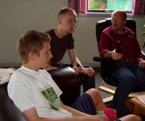 Niklas, Lasse og Peer