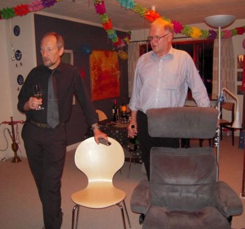 Peer og Jørgen synger nytåret ind