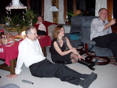 Finn, Majbrit, Mona og Jørgen