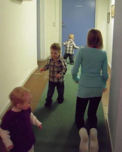 Nanna, Casper, Magnus og Ida