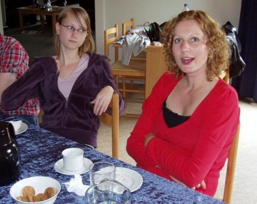 Malene og Charlotte