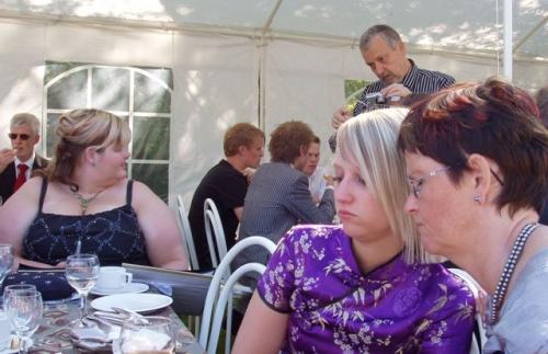 Bettina, Finn, Malene og Mona