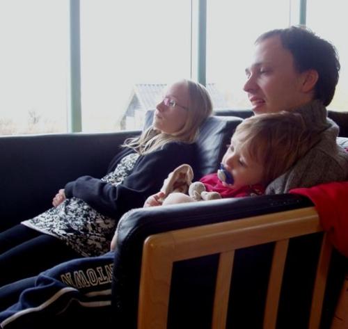 Sarah, Morten og Viggo