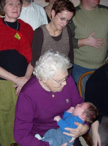 Mona, Marianna, Ellen og Casper