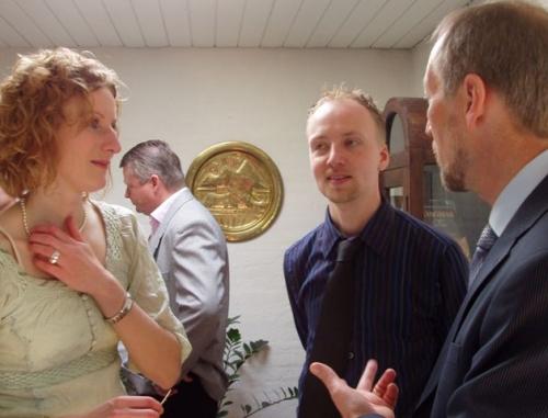 Charlotte, Lasse og Peer