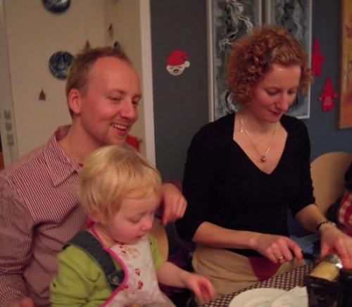 Nanna, Lasse og Charlotte