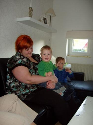 Bettina, Magnus og Casper