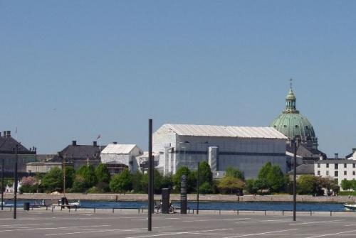 Amalienborg pakket ind