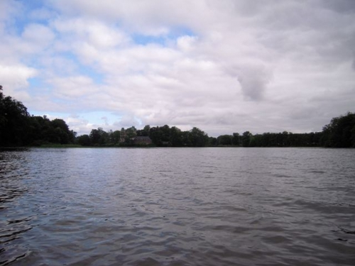 Ankommet til søen