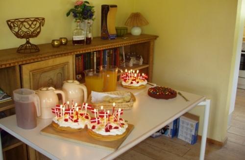 Fødselsdagsbordet