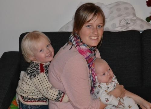 Emma, Louise og Sander