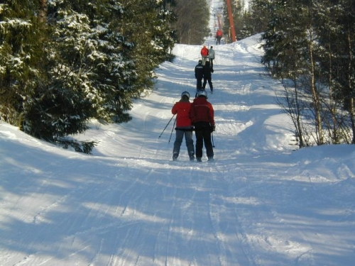 På ski igen