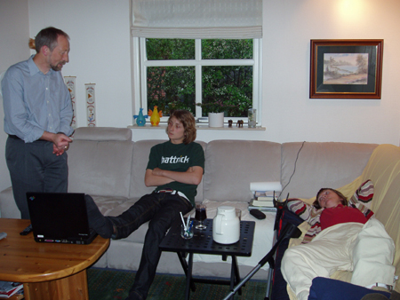 Peer, Niklas og MOna