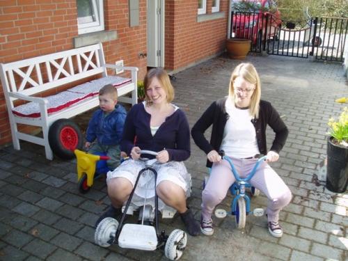 Casper, Louise og Malene