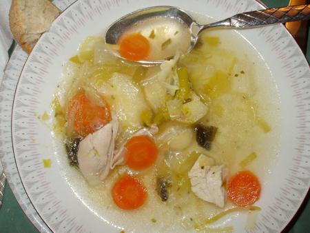 Kyllingesuppe