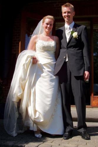 2008 - Louise og Rasmus bryllup
