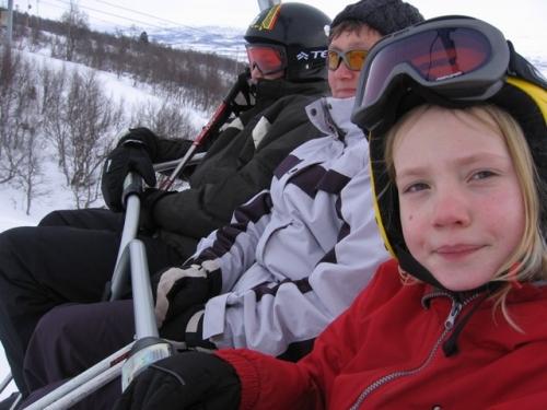 2006 - Vinterferie i Hovden Norge