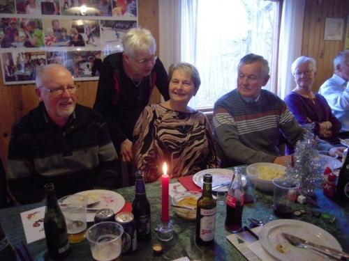 Henning, Birte, Irma, Claus, Karin