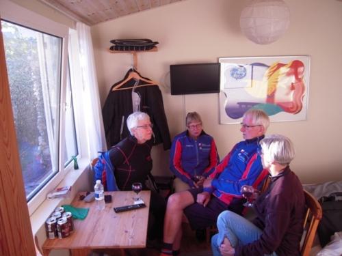 Tove, Lene, Henning og Susanne