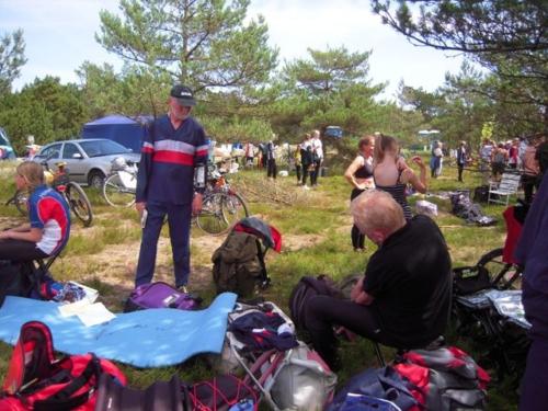 Henning Larsen på stævnepladsen