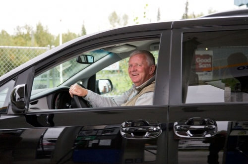 Anchorage - Klaus Aarsleff er klar til at være chauffør i små 3 uger