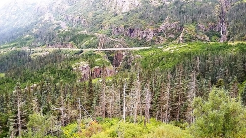 Vejbroen til Skagway