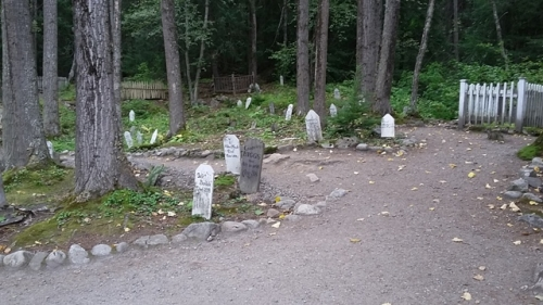 Kirkegård i Skagway
