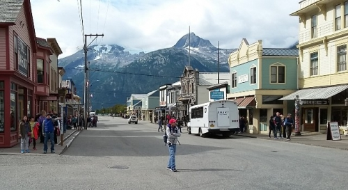 Hovedgaden i Skagway