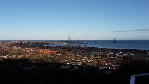 Frederikshavn set fra Pikkerbakken