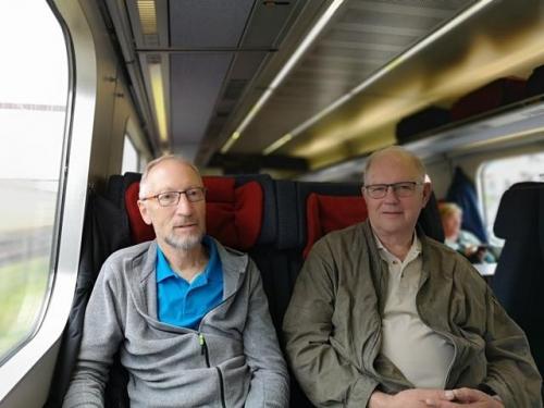 På vej mod første skift i Flensborg
