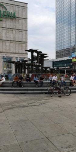 Det grimmeste springvand på Alexanderplatz