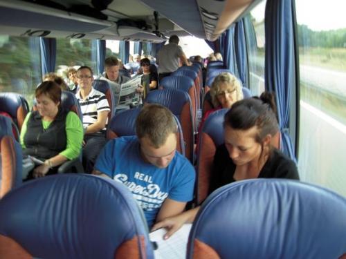 Quiz i bussen