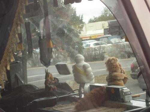 Et kig ind i en lastbil