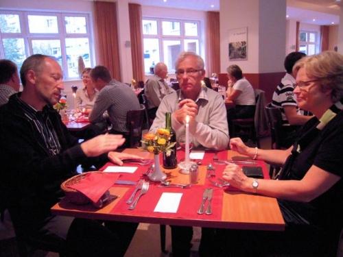 Aftensmad på Hotellet