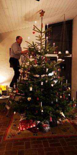 Det var godt nok et højt juletræ